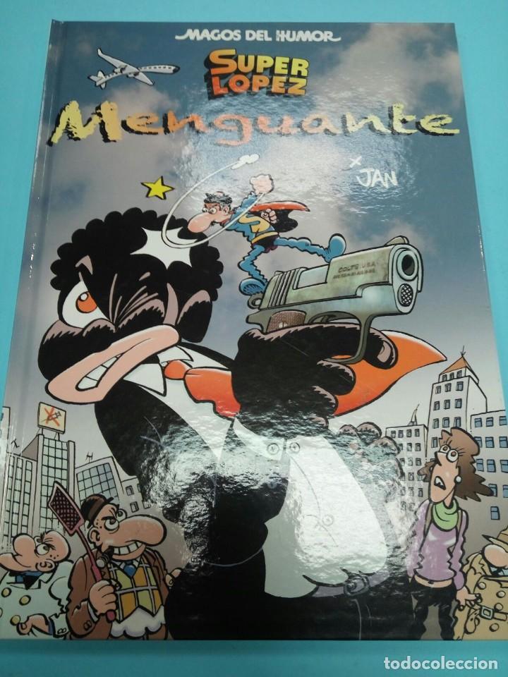 MAGOS DEL HUMOR 186: SUPERLÓPEZ. MENGUANTE - JAN - EDICIONES B (Tebeos y Comics - Ediciones B - Humor)