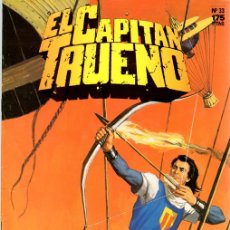 Cómics: EL CAPITAN TRUENO. Nº 33. EL BRUJO DEL PANTANO. EDICION HISTORICA. OCTUBRE 1987. Lote 109799663