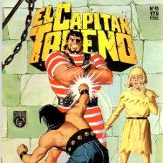 Cómics: EL CAPITAN TRUENO. Nº 45. LOS DOGOS DE GUNDAR. EDICION HISTORICA. DICIEMBRE 1987. Lote 109802038