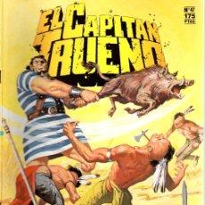 Cómics: EL CAPITAN TRUENO. Nº 47. TENEBROSA INTRIGA. EDICION HISTORICA. ENERO 1988. Lote 109803027