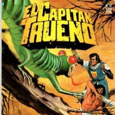 Cómics: EL CAPITAN TRUENO. Nº 51. ZERDAK, EL JIBARO. EDICION HISTORICA. FEBRERO 1988.. Lote 109804938