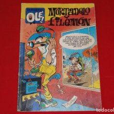 Cómics: OLE Nº 19. MORTADELO Y FILEMON. EDICIONES B. C-8C. Lote 110417035