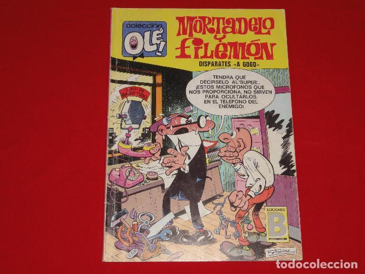 OLE Nº 90. MORTADELO Y FILEMON. EDICIONES B. C-8C (Tebeos y Comics - Ediciones B - Humor)