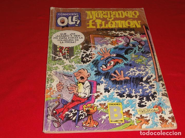 OLE Nº 115. MORTADELO Y FILEMON. EDICIONES B. C-8C (Tebeos y Comics - Ediciones B - Humor)