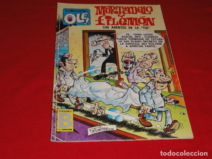 Cómics: OLE Nº 124. MORTADELO Y FILEMON. EDICIONES B. C-8C - Foto 1 - 110646515