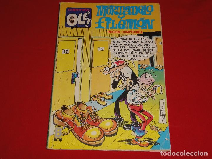 Cómics: OLE Nº 154. MORTADELO Y FILEMON. EDICIONES B. C-8C - Foto 1 - 110788763