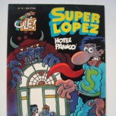 Comics - Super López nº 19 Hotel Pánico (Colección Olé) - 110802727