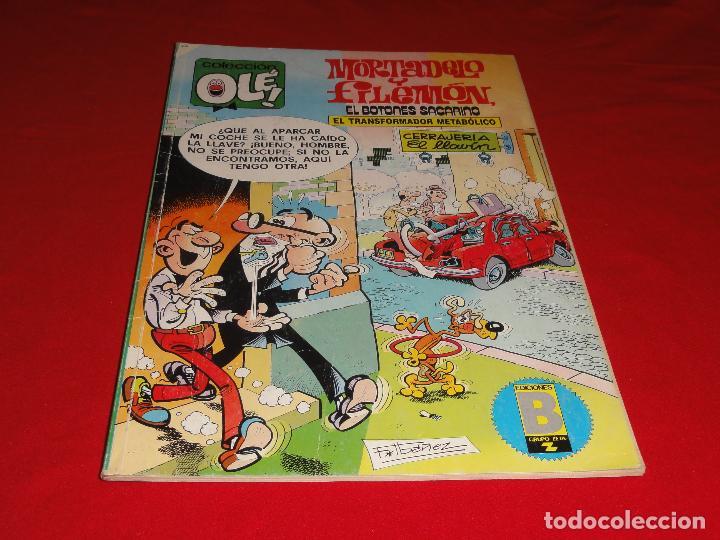 OLE Nº 182. MORTADELO Y FILEMON. EDICIONES B. C-8C (Tebeos y Comics - Ediciones B - Humor)