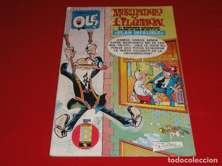 OLE Nº 183. MORTADELO Y FILEMON. EDICIONES B. C-8C (Tebeos y Comics - Ediciones B - Humor)