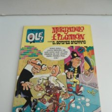 Cómics: MORTADELO Y FILEMÓN CON EL BOTONES SACARINO COLECCIÓN OLÉ Nº M.230 - EDICIONES B 1ª REIMPRESIÓN 1992. Lote 111262659