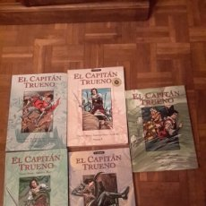Cómics: 5 TOMOS DEL CAPITAN TRUENO N 1,2,3, 7 Y 10 EDICIONES B DE VICTOR MORA. Lote 111292442