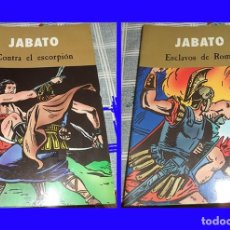Cómics: JABATO 2 COMIC: ESCLAVOS DE ROMA + CONTRA EL ESCORPION COLOR . Lote 111380003