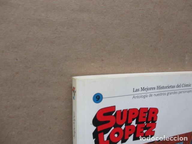 Cómics: SUPER LOPEZ. LAS MEJORES HISTORIETAS DEL COMIC ESPAÑOL 9. EL MUNDO. RÚSTICA. BUEN ESTADO - Foto 2 - 111639727