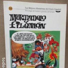 Cómics: MORTADELO Nº 33 LAS MEJORES HISTORIETAS DEL COMIC ESPAÑOL / EL MUNDO. Lote 111640691