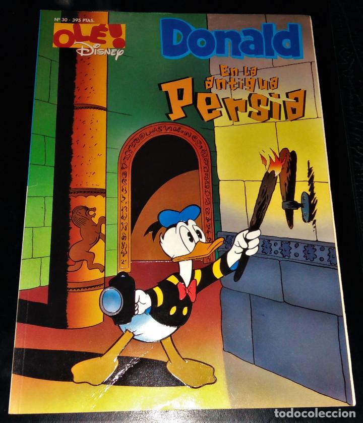 OLÉ DISNEY Nº 30 DONALDS EN LA ANTIGUA PERSIA (Tebeos y Comics - Ediciones B - Otros)