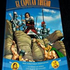 Cómics: EL CAPITÁN TRUENO - LA HORDA DE AKBAR + LAS RUINAS DE TINTAGEL - VICTOR MORA FUENTES MAN 2000. Lote 111743807