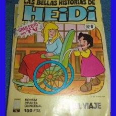 Cómics: BELLAS AVENTURAS DE HEIDI N.º 8 ED. B 1987 . Lote 111761535