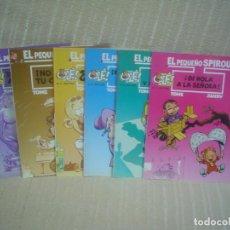 Cómics: EL PEQUEÑO SPIROU TOMOS 1-3-4-5-6-7 - COLECCIÓN OLÉ - EDICIONES B. Lote 111952999