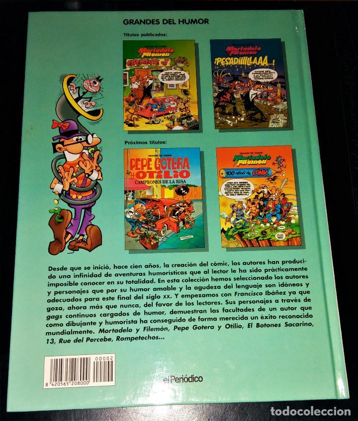 Cómics: Grandes / magos del Humor 9 números Mortadelo Filemón Rompetechos Pepe Gotera Simpsons elPeriódico - Foto 3 - 112184155
