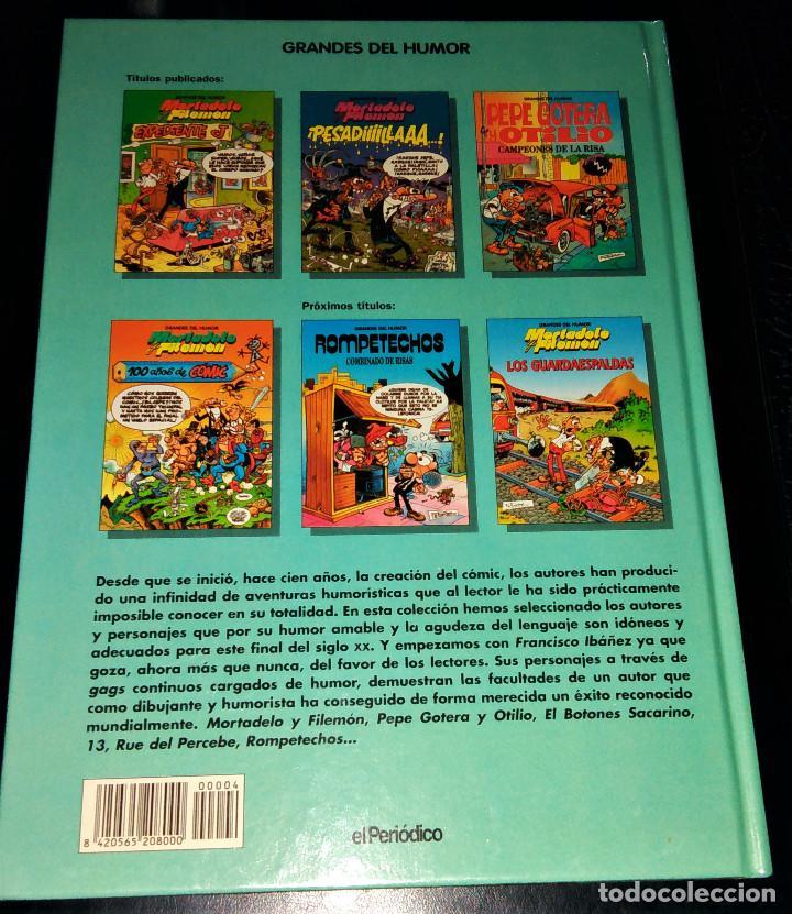 Cómics: Grandes / magos del Humor 9 números Mortadelo Filemón Rompetechos Pepe Gotera Simpsons elPeriódico - Foto 6 - 112184155