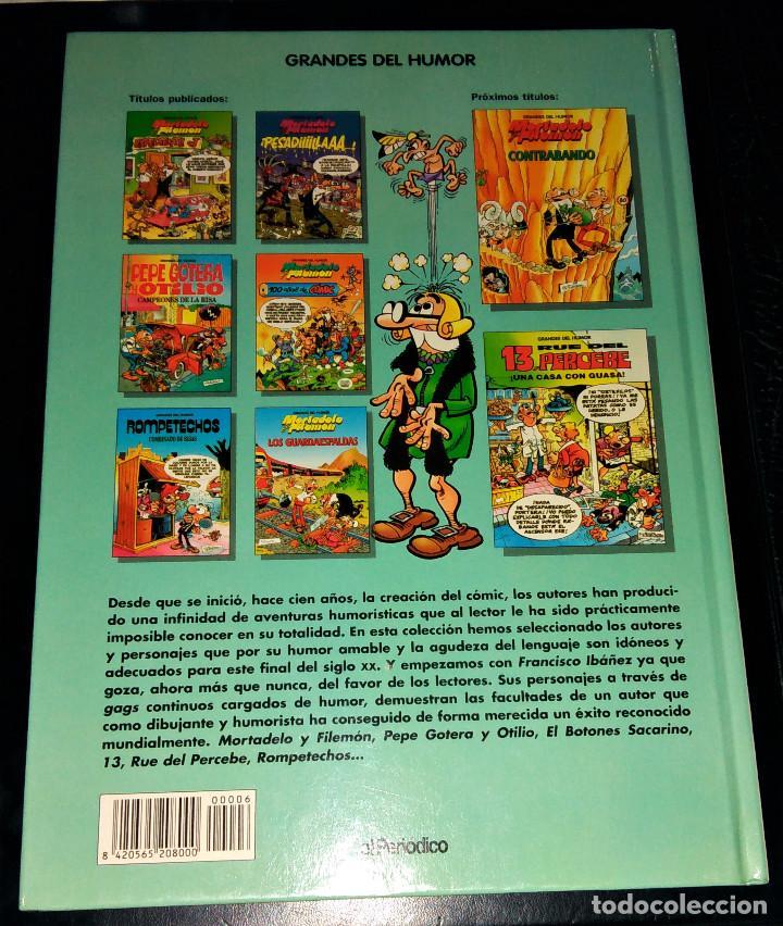 Cómics: Grandes / magos del Humor 9 números Mortadelo Filemón Rompetechos Pepe Gotera Simpsons elPeriódico - Foto 9 - 112184155