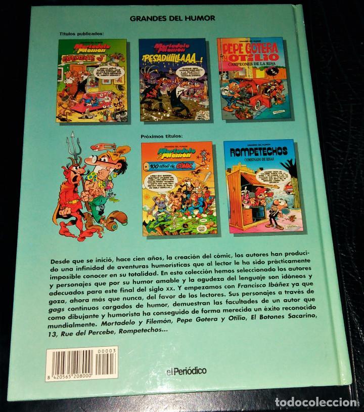 Cómics: Grandes / magos del Humor 9 números Mortadelo Filemón Rompetechos Pepe Gotera Simpsons elPeriódico - Foto 18 - 112184155