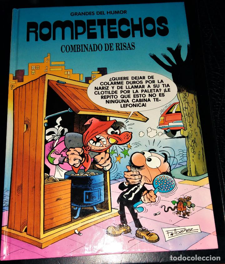 Cómics: Grandes / magos del Humor 9 números Mortadelo Filemón Rompetechos Pepe Gotera Simpsons elPeriódico - Foto 20 - 112184155