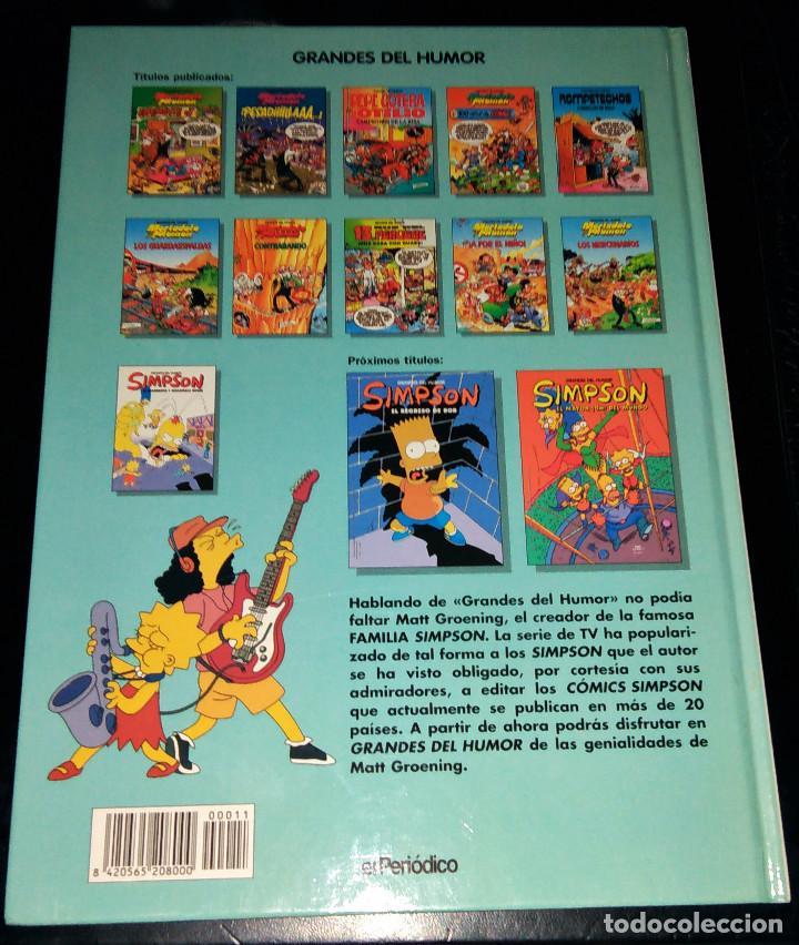 Cómics: Grandes / magos del Humor 9 números Mortadelo Filemón Rompetechos Pepe Gotera Simpsons elPeriódico - Foto 24 - 112184155