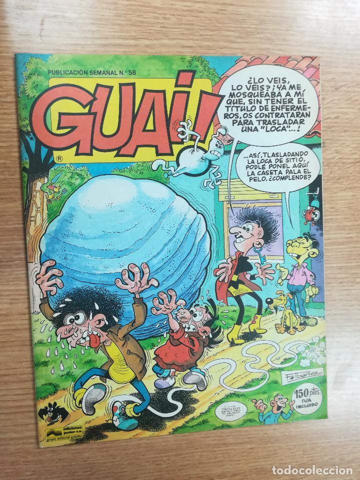 GUAI #58 (TEBEOS SA) (Tebeos y Comics - Ediciones B - Humor)