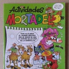 Cómics: ACTIVIDADES MORTADELO N°2: ¡PINTA DE COLOR BUÑUELO LA CARA DE MORTADELO! EDICIONES B, 2007.. Lote 134061703
