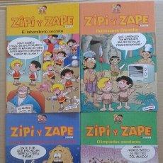 Cómics: LOTE DE CUATRO ÁLBUMES DE ZIPI Y ZAPE, POR CERA Y RAMIS. COLECCIÓN COMPLETA DE EDICIONES B. Lote 112409759