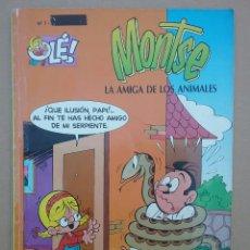 Cómics: MONTSE, LA AMIGA DE LOS ANIMALES, POR ENRICH. OLÉ! N°7. EDICIONES B, 1994.. Lote 112533072
