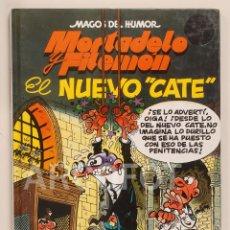Cómics: MAGOS DEL HUMOR - MORTADELO Y FILEMÓN - EL NUEVO CATE - EDICIONES B 1998. Lote 112597919