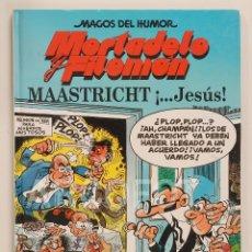 Cómics: MAGOS DEL HUMOR - MORTADELO Y FILEMÓN - MAASTRICHT ¡...JESÚS! - EDICIONES B 1998. Lote 112598111