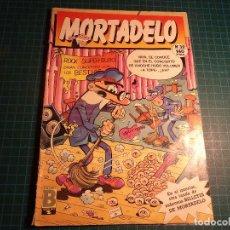 Cómics: MORTADELO. Nº 39. EDICIONES B. TIENE EL LOMO ROZADO. (Z-3).. Lote 112719515