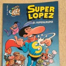 Cómics: SUPER LOPEZ Nº 2 - FORMATO GRANDE CON PORTADA EN RELIEVE. Lote 112992667