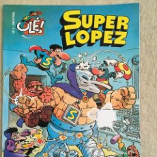 Cómics: SUPER LOPEZ Nº 3 - FORMATO GRANDE CON PORTADA EN RELIEVE. Lote 112993035