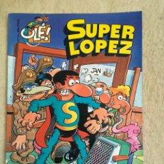 Cómics: SUPER LOPEZ Nº 4 - FORMATO GRANDE CON PORTADA EN RELIEVE. Lote 112993375