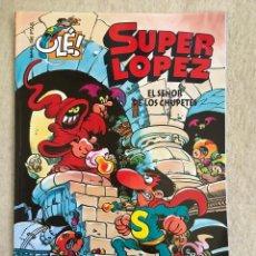 Cómics: SUPER LOPEZ Nº 5 - FORMATO GRANDE CON PORTADA EN RELIEVE. Lote 112993691