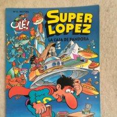Cómics: SUPER LOPEZ Nº 8 - FORMATO GRANDE CON PORTADA EN RELIEVE. Lote 112995535
