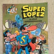 Cómics: SUPER LOPEZ Nº 9 - FORMATO GRANDE CON PORTADA EN RELIEVE. Lote 112996003