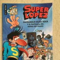 Cómics: SUPER LOPEZ Nº 11 - FORMATO GRANDE CON PORTADA EN RELIEVE. Lote 112996323