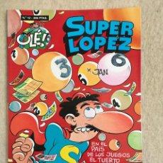 Cómics: SUPER LOPEZ Nº 12 - FORMATO GRANDE CON PORTADA EN RELIEVE. Lote 112996551