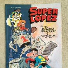 Cómics: SUPER LOPEZ Nº 14 - FORMATO GRANDE CON PORTADA EN RELIEVE. Lote 112996715