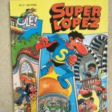 Cómics: SUPER LOPEZ Nº 17 - FORMATO GRANDE CON PORTADA EN RELIEVE. Lote 112997731
