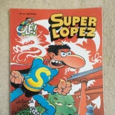 Cómics: SUPER LOPEZ Nº 18 - FORMATO GRANDE CON PORTADA EN RELIEVE. Lote 112998103