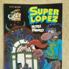 Cómics: SUPER LOPEZ Nº 19 - FORMATO GRANDE CON PORTADA EN RELIEVE. Lote 112998595