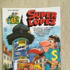 Cómics: SUPER LOPEZ Nº 20 - FORMATO GRANDE CON PORTADA EN RELIEVE. Lote 112998767