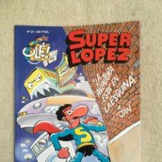 Cómics: SUPER LOPEZ Nº 24 - FORMATO GRANDE CON PORTADA EN RELIEVE. Lote 112999199