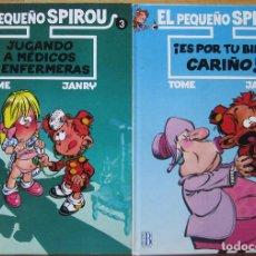 Cómics: EL PEQUEÑO SPIROU DE TOMÉ Y JANRY. Lote 113000323